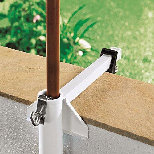 WENKO Sonnenschirmhalter Flexi, bis 4 cm Durchmesser