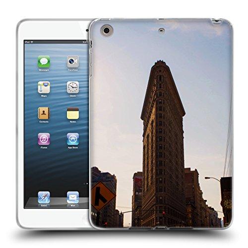 Flat Iron NY Orte 4 Soft Gel Hülle für Apple iPad mini 1 / 2 / 3 (Flat Iron Gel)