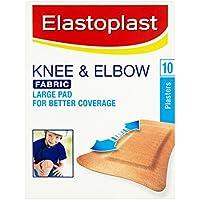 Elastoplast Stoffpflaster für Knie und Ellenbogen,10Packungen, insgesamt 100 Stück preisvergleich bei billige-tabletten.eu