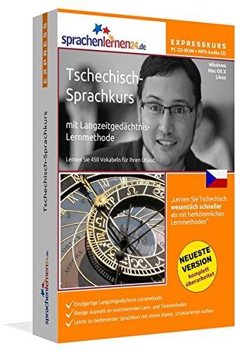 Sprachenlernen24.de Tschechisch-Express-Sprachkurs PC CD-ROM für Windows/Linux/Mac OS X + MP3-Audio-CD: Werden Sie in wenigen Tagen fit für Ihre Reise nach Tschechien Sprachen Lernen Software