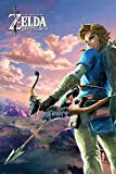 Grupo Erik Editores Poster Zelda Breath Of The Wild Hyrule Scene