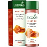 Biotique Bio Honey Gel Refreshing Foaming Face Cleanser, 120ml