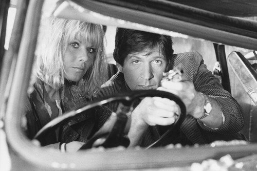 Michael Brandon in Dempsey & Makepeace 24x36inch (60x91cm) Poster with Glynis Barber in car