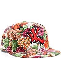 Underground Kulture UK Floral Snapback Baseball Cap by Snapbacks