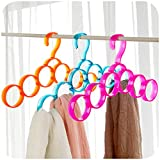 #10: 6 Ring Multipurpose Hanger - Assorted