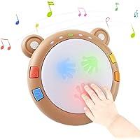 tumama Baby Giocattoli elettronici musicali,I bambini illuminano il tamburo Strumenti musicali per bambini Sensori…