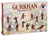 Red Box RB72034 - Gurkhas, Boxer Rebellion 1900, Resin Bausätze