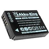 Akku-King Akku kompatibel mit Panasonic DMW-BCG10E - Li-Ion 950mAh - Lumix TZ6, TZ7, TZ8, TZ10, TZ18, TZ22, TZ25, TZ31, TZ36, ZX1, ZX3