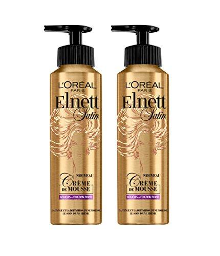 L'Oréal Paris Elnett Mousse Coiffante Boucle 200 ml - Lot de 2