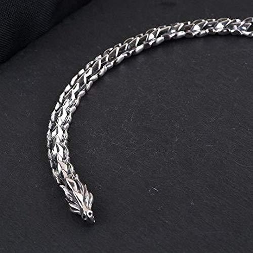 zhenfa Armband, S925 Silber Vintage Drachenwaage Kiel Armband, Wasserhahn Armband, geeignet für jedermann zu tragen, Elegante Schmuckschatulle, jeden Moment - schönes Geschenk