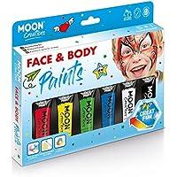 Caja de Pintura Facial y Corporal Colores Primarios de Moon Creations - 12ml
