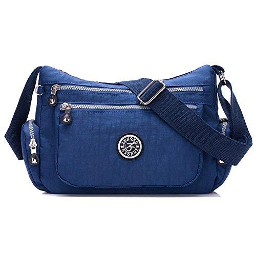 Foino Schultertasche Damen Umhängetasche Wasserdicht Reisetasche Leichter Taschen Kuriertasche Mode Sporttasche für Designer Messenger Bag