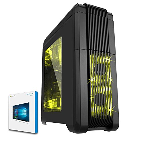 Buy Fierce VULTURIS – AMD Athlon II X4 880K Quad Core 4.4GHz Processor, NVIDIA GTX 1060 3GB Graphics Card, 8GB RAM 120GB SSD 1TB Hard Drive Gaming PC Desktop Computer – HDMI/USB3 – 224795