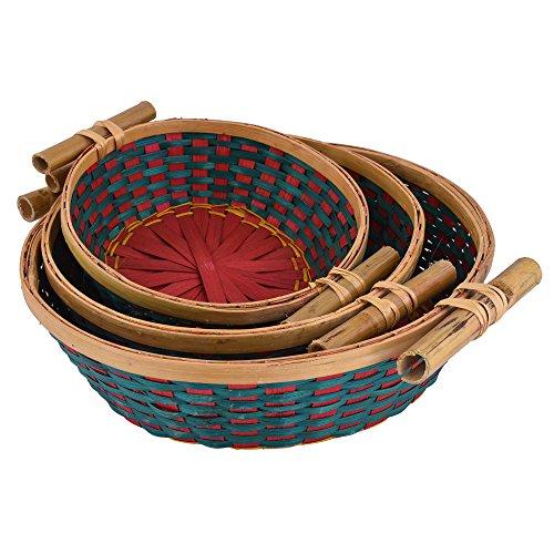 jupiter gifts and crafts bamboo basket set