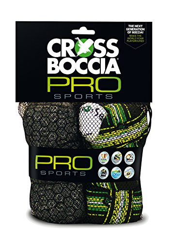 Crossboccia® Double-Pack Pro Soft-Boccia Soft-Boule Neues Grey Plus Lines 2016, 970847