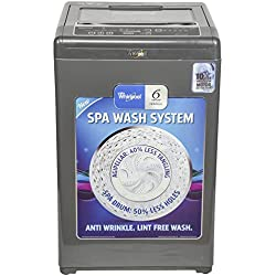 Whirlpool 6.5 kg Fully-Automatic Top Loading Washing Machine (Whitemagic Premier 6.5, Grey)