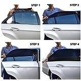 2-Pack-Parasol-de-Coche-Beb-Visera-para-Ventana-lateral-de-coche-Incluye-Alfombrilla-Antideslizante-para-el-Salpicadero-del-coche-gratuita-la-Malla-proporciona-la-mxima-proteccin-contra-los-rayos-UVA-