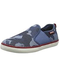 Geox J62A7D Slip-on Zapatos Boy Tejido Azul Claro Azul Claro 24