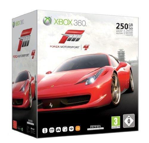 Xbox 360 - Konsole Slim 250 GB inkl. Forza 4