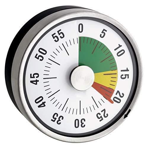 TimeTex Compact Zeitdauer-Uhr mit Magnet und Ampelscheibe (Elektronische Stempel)