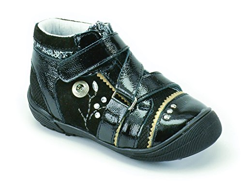 Catimini Cyra, Chaussures de ville fille Noir