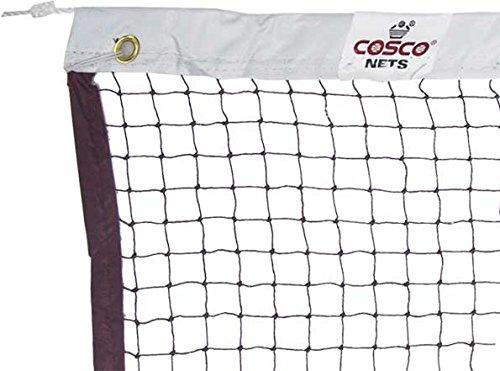 Cosco Original COSCO Badminton Net NYLON Brown, 4 side tape,
