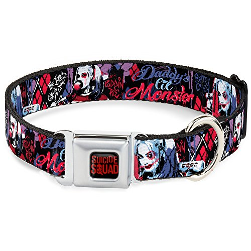 Buckle-Down-16-23-Suicide-Squad-2-Harley-Quinn-Poses-Dog-Collar-Wide-Medium