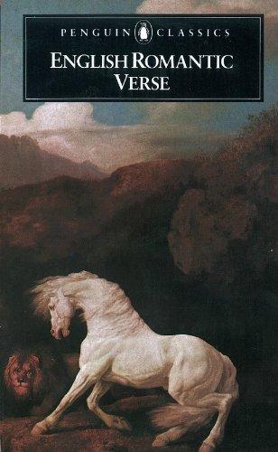 English Romantic Verse (Poets)