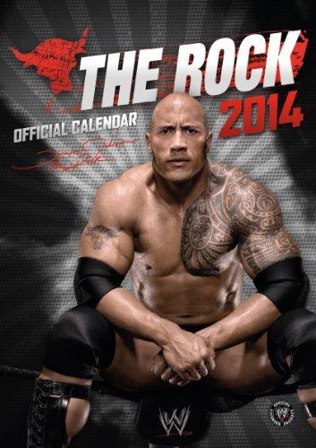 Preisvergleich Produktbild WWE: The Rock Offizieller Kalender 2014