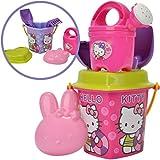 Simba Hello Kitty Herz-Eimergarnitur Sandspielzeug Sandeimer Eimer