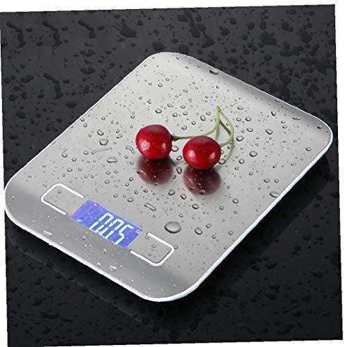 CULER 10kg Haushaltsküchenwaage Elektronische Nahrungsmittelskalen Diätwaagen Messwerkzeug dünne LCD-Digital-elektronische wiegende Skala