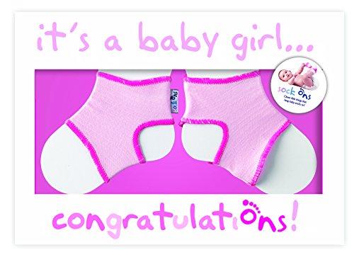 Sock Ons 140510 - Glückwunschkarte rosa