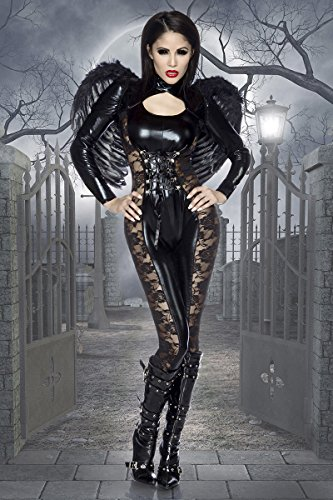 Black-Angel-Halloween-Kostüm - (Kostüme Halloween Angel)