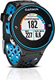 Garmin Forerunner 620 GPS Running Sports Activity Tracker Fitness Watch with Colour Touchscreen - Black/Blue (Certified Refurbished)