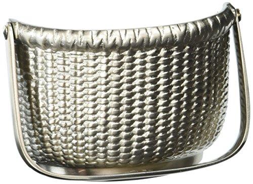 Aldaba para puerta Nantucket cesta, níquel plateado (Premium tamaño)