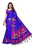 TRYme Fashion Chiffon Saree With Blouse Piece