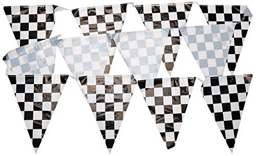 tes Wimpel Banner, 10 x 12-Fuß (Kunststoff Wimpel Banner)