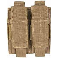 Mil-Tec - Fondina doppia con chiusura magnetica per pistola