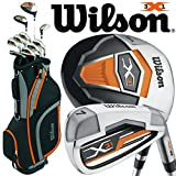 Best Golf Club Sets - Wilson Mens X-31 Package Set (Steel/Graphite) 2017 Mens Review