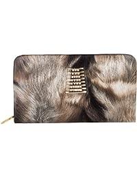 Louise Belgium Premium PU Leather Designer Women's Clutch- Brown