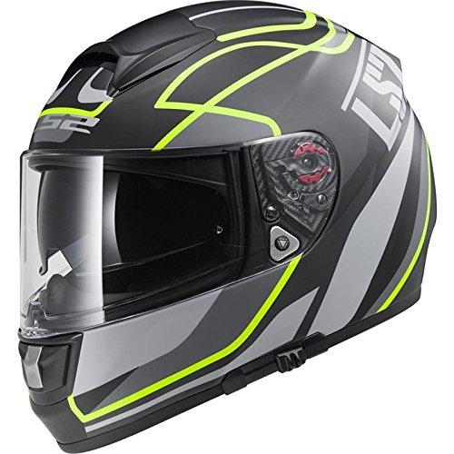 LS2FF397Vector Moto Casco Integral–Vantage Mate Negro/Alta V