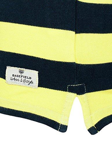 Basefield Herren Polo Shirt 1/2 mit Applikation - Light Aqua (219011858) 301 CITRUS