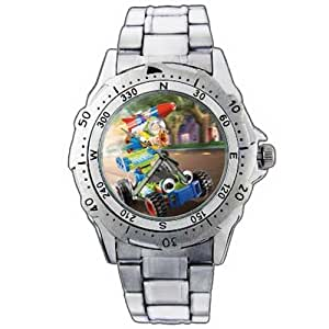EPSP231 Toy Story Woody Buzz Lightyear And Car Stainless Steel Wrist Watch