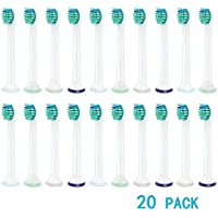 Imisi Philips Sonicare Têtes de remplacement pour brosse à dents Philips Sonicare Têtes HX6024HX6013ProResults...