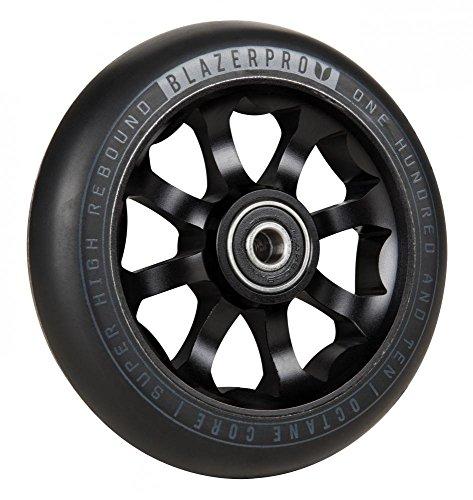 Blazer Pro Scooter Octane with ABEC 9 Ruedas, Unisex Adulto, Black, 110mm