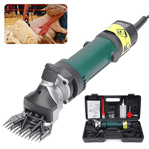Elektrische Schafe scheren Ziegen Set, Schafschere Elektrische Clippers 690w 50HZ 6 Geschwindigkeit 13 Zähne,220V