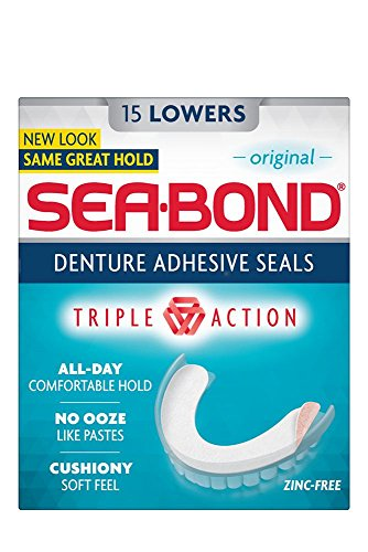 Sea-Bond Zahnprothesenhaftmittel, Unten 15 Ea