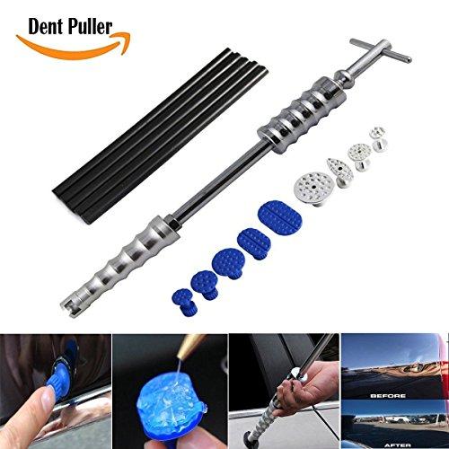 Preisvergleich Produktbild Dent Removal Werkzeug Kit-Slide Hammer-Reitern mit 9 Stücken Klebstoff Tabs