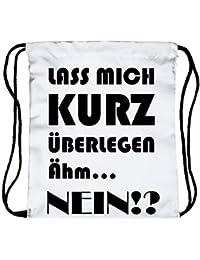 243fafe7ec7b9 Beutel Turnbeutel Fullprint Sprüche Spaß Party Jokes Statement Quote  Aufdruck Tasche Rucksack Jutebeutel Sportbeutel Gym Bag