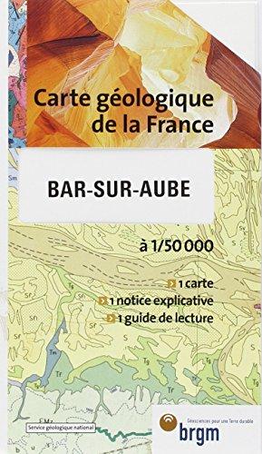Carte géologique : Bar-sur-Aube